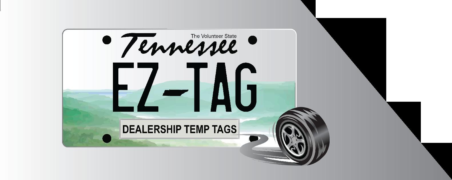 EZ Dealer Tag Logo
